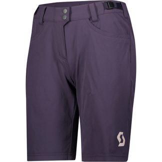 Scott - Trail Flow Bikeshorts mit Hosenpolster Damen dark purple