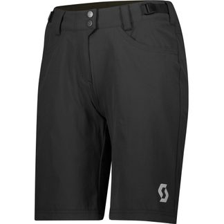Scott - Trail Flow Bikeshorts mit Hosenpolster Damen black