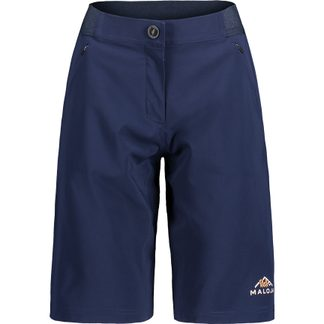 Maloja - AnemonaM. Bike Shorts Damen night sky