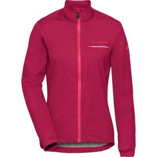 VAUDE - Strone Bike Regenjacke Damen crimson red