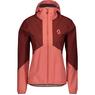 Scott - Explorair Light Dryo 2.5l Hardshelljacke Damen rust red brick red