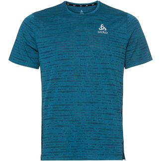 Odlo - Zeroweight Engineered Chill Tec Running T-Shirt Men mykonos blue melange