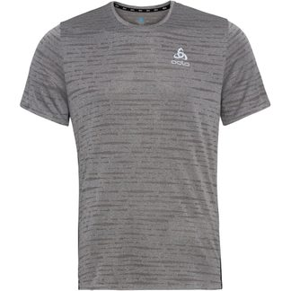 Odlo - Zeroweight Engineered Chill Tec Running Shirt Men odlo steel grey melange