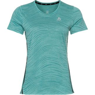 Odlo - Zeroweight Engineered Chill Tec T-Shirt Women jaded melange