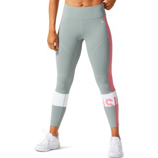 ASICS - Color Block Cropped Tights Women slate grey peach petal