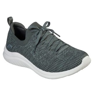 Skechers - Ultra Flex 2.0 Flash Illusion Sneaker Damen grün