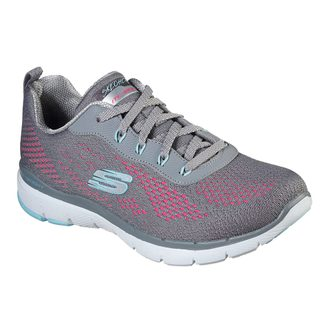 Skechers - Flex Appeal 3.0 Pure Velocity Sneaker Women grey