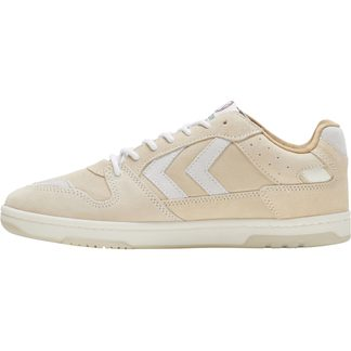Hummel - Power Play Suede Sneaker Damen bone white
