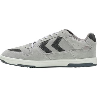 Hummel - Power Play Suede Sneaker Herren light grey