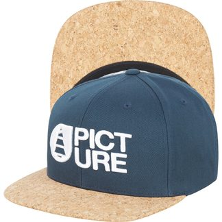 Picture - Qilo Cap Unisex dark blue