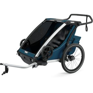 Thule - Chariot Cross 2 Seats 2021 majolica blue