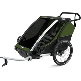 Thule - Chariot Cab 2 Sitzer 2021 cypress green
