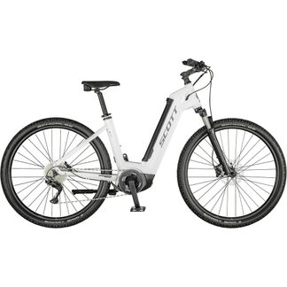 Scott - Sub Cross eRIDE 10 Unisex gloss white (Model 2021)