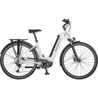Scott - SUB Sport eRIDE 10 Unisex gloss white (Model 2021)