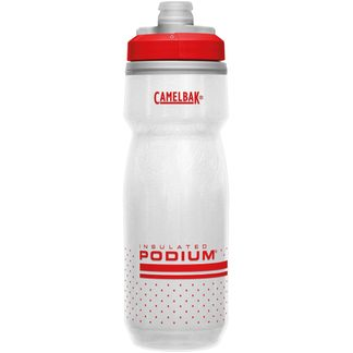 Camelbak - Podium® Chill™ 620ml Trinkflasche fiery red white