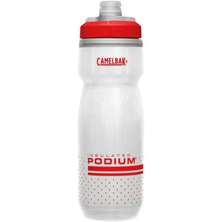 Camelbak - Podium® Chill™ 620ml Waterbottle fiery red white