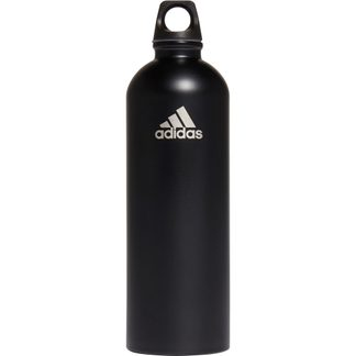 adidas - Steel Bottle 750ml black matte silver