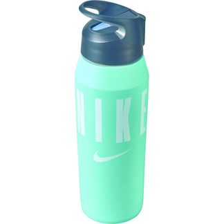 Nike - HyperCharge Straw Water Bottle 24 oz teal tint cool grey white