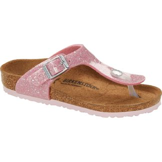 Birkenstock - Gizeh Thong Sandal Kids cosmic sparkle candy pink