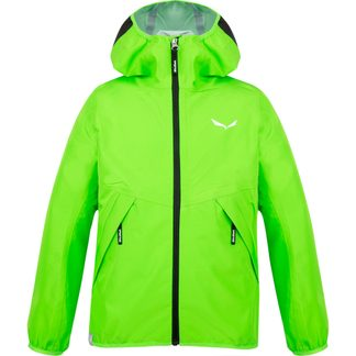 SALEWA - Aqua PTX Jacket Kids pale frog