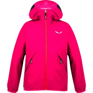 SALEWA - Aqua PTX Jacket Kids rose red