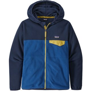 Patagonia - Micro D Snap-T Fleece Jacket Boys superior blue
