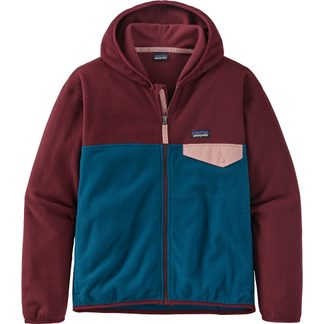 Patagonia - Micro D Snap-T Fleecejacke Mädchen crater blue