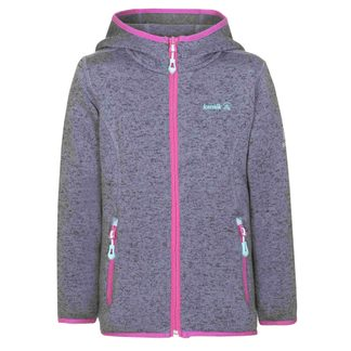 Kamik - Oceania Knitted Fleece Jacket Kids sharkskin