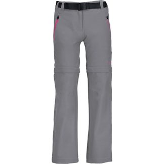 CMP - Stretchpants Zip Off Girls grey