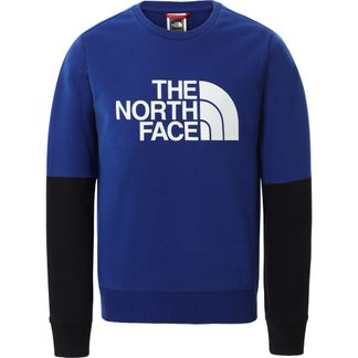 The North Face® - Drew Peak Light Crew Pullover Kids bolt blue