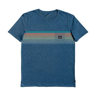 Quiksilver - Slab T-Shirt Jungen majolica blue heather