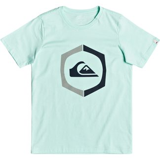 Quiksilver - Sure Thing T-Shirt Jungen beach glass