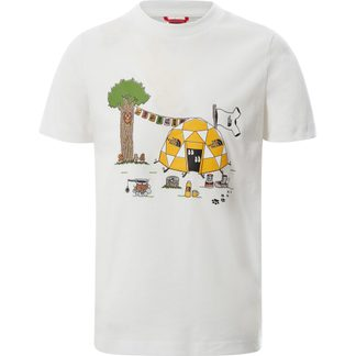 The North Face® - Graphic T-Shirt Kinder white dome tent