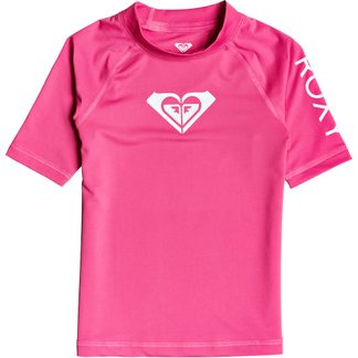 Roxy - Whole Hearted Rashguard Girls pink flambe