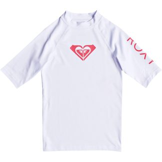 Roxy - Whole Hearted Rashguard Girls white