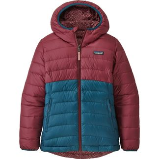 Patagonia - Reversible Down Isolationsjacke Mädchen chicory red