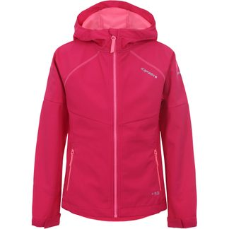 Icepeak - Kimball Softshell Jacket Girls carmine