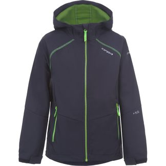 Icepeak - Korbach Softshell Jacket Boys grey green