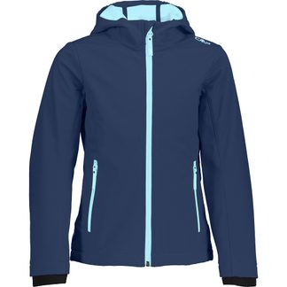 CMP - Softshell Jacket Kids blue pool