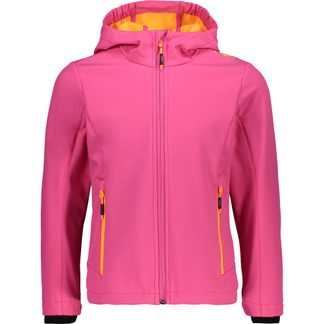 CMP - Softshelljacket Girls pink melange