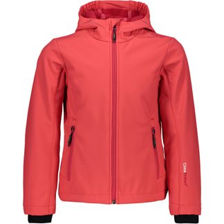 CMP - Softshelljacket Girls corallo