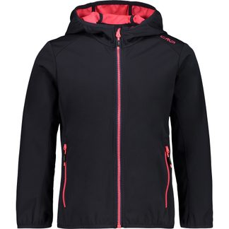 CMP - Softshell Jacket Girls antracite gloss