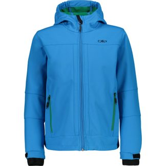 CMP - Softshell Jacket Boys cyan