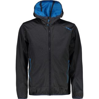 CMP - Softshell Jacket Boys black melange
