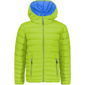 CMP - Quilted Jacket Kids limegreen