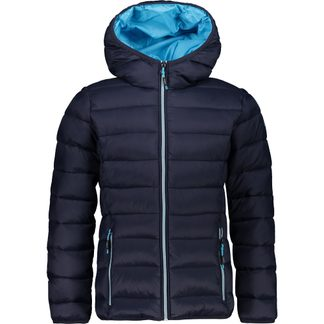 CMP - Fix Hood Steppjacke Kinder blue turchese