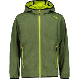 CMP - Light Softshell Jacket Kids green melange