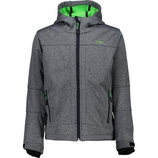 CMP - Softshell Jacket Boys blue verde