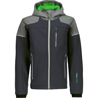 CMP - Softshell Jacket 2FB Kids grey-green