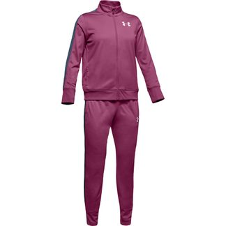 Under Armour - Knit Track Suit Girls pace pink